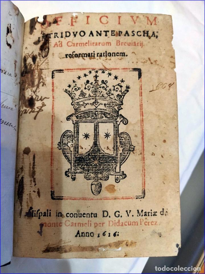 Libros antiguos: AÑO 1616. LIBRO EDITADO EN SEVILLA CON PARTITURAS. 400 años de antigüedad. Muy raro. - Foto 2 - 193961035