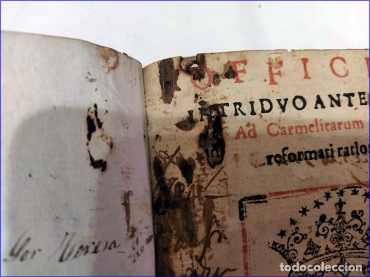 Libros antiguos: AÑO 1616. LIBRO EDITADO EN SEVILLA CON PARTITURAS. 400 años de antigüedad. Muy raro. - Foto 4 - 193961035