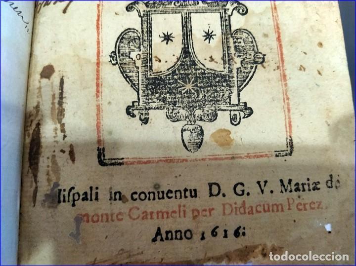 Libros antiguos: AÑO 1616. LIBRO EDITADO EN SEVILLA CON PARTITURAS. 400 años de antigüedad. Muy raro. - Foto 5 - 193961035