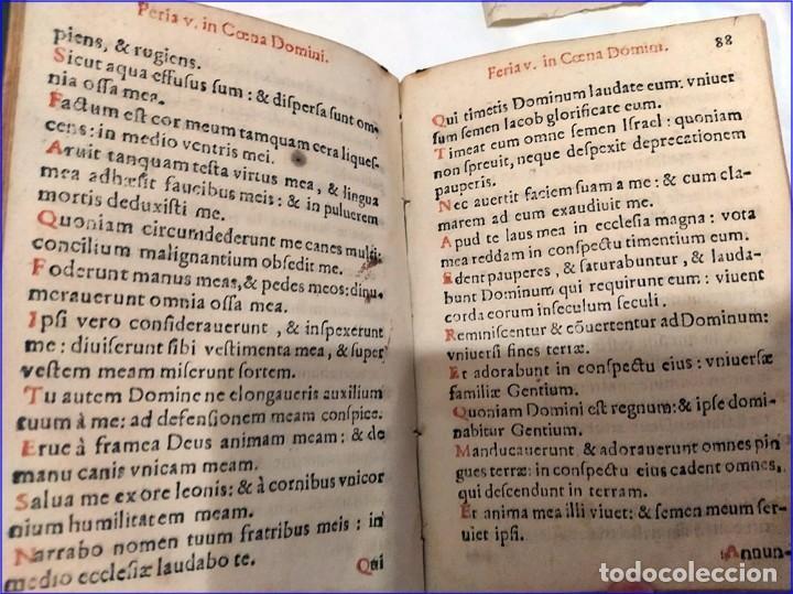Libros antiguos: AÑO 1616. LIBRO EDITADO EN SEVILLA CON PARTITURAS. 400 años de antigüedad. Muy raro. - Foto 10 - 193961035