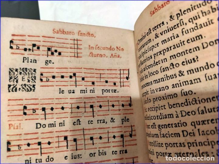 Libros antiguos: AÑO 1616. LIBRO EDITADO EN SEVILLA CON PARTITURAS. 400 años de antigüedad. Muy raro. - Foto 11 - 193961035