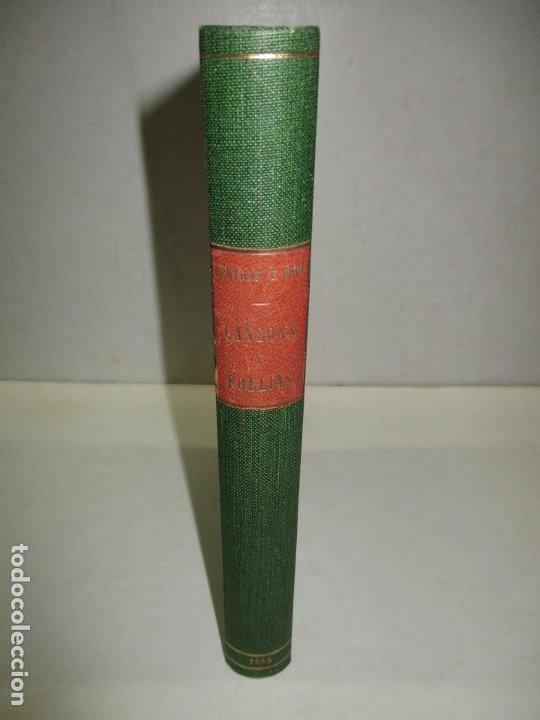 Libros antiguos: CANSONS Y FOLLIES POPULARS (INÉDITES). RECULLIDES AL PEU DE MONTSERRAT. BERTRAN Y BROS, Pau. 1885. - Foto 2 - 194393425