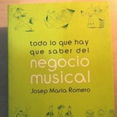 Libros antiguos: NEGOCIO MUSICAL. J. M. ROMERO. Lote 194784290