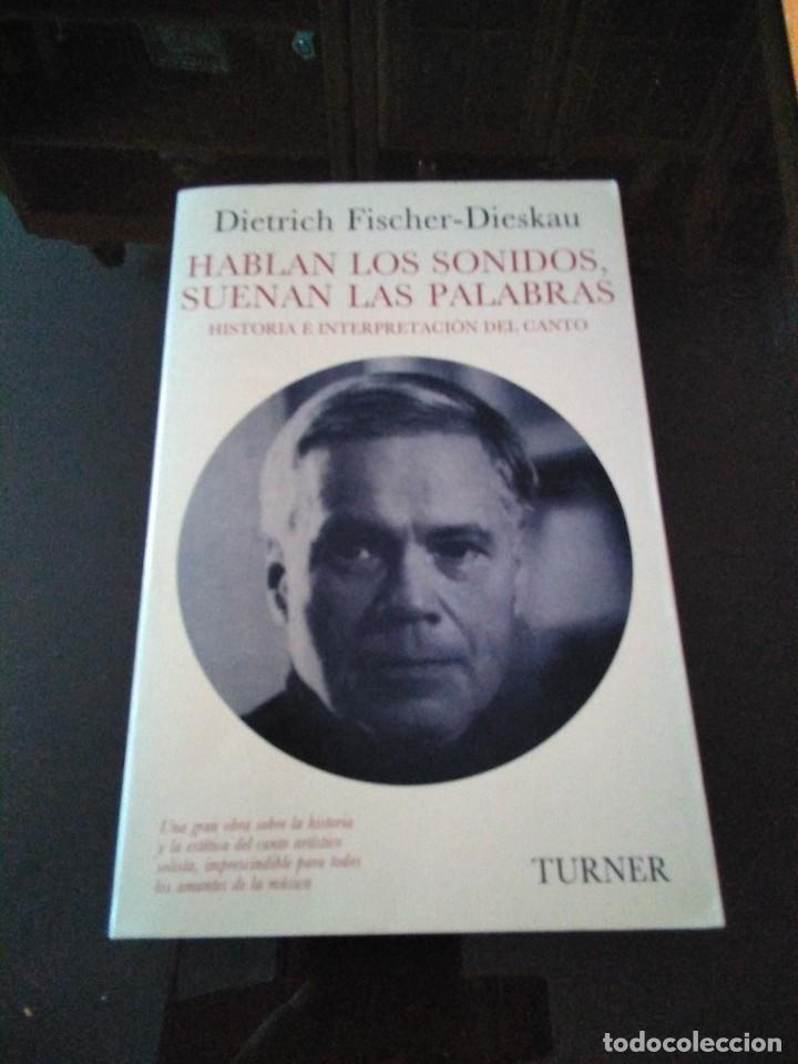 HABLAN LOS SONIDOS SUENAN LAS PALABRAS (Libros Antiguos, Raros y Curiosos - Bellas artes, ocio y coleccion - Música)