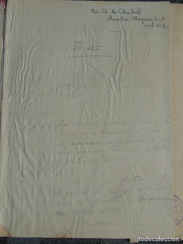 Libros antiguos: ANTIGUO LIBRO DE PARTITURAS MUSICALES, PARA PIANO.VARIOS AUTORES.C.F. PETERS. SELLO CASA DE MÚSICA. - Foto 3 - 197335493