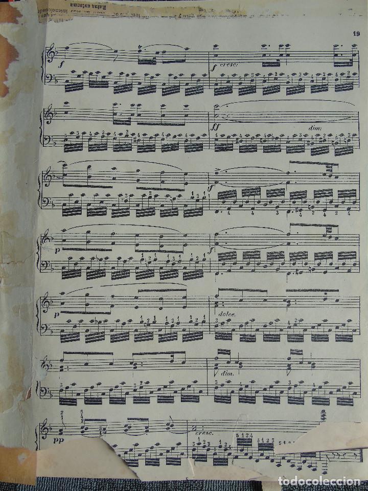 Libros antiguos: ANTIGUO LIBRO DE PARTITURAS MUSICALES, PARA PIANO.VARIOS AUTORES.C.F. PETERS. SELLO CASA DE MÚSICA. - Foto 6 - 197335493