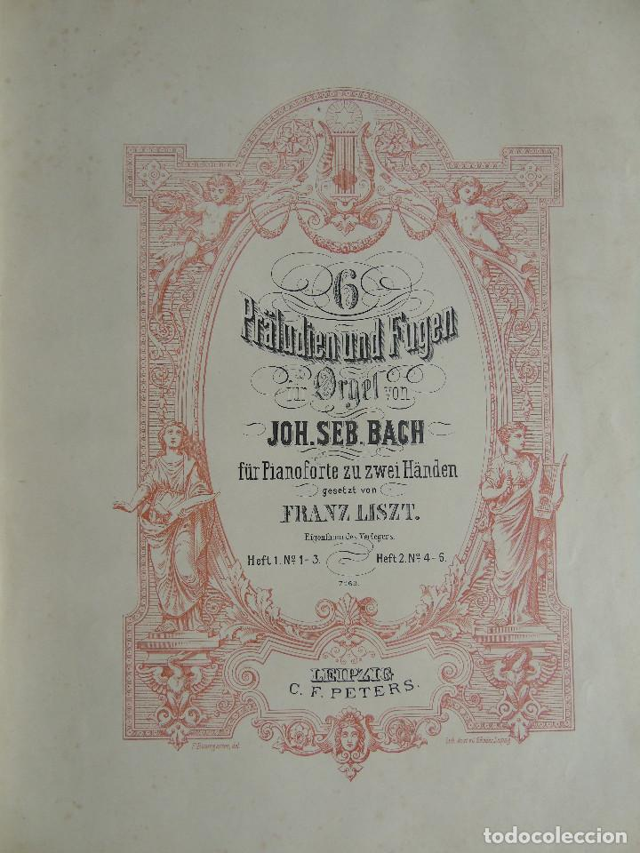 Libros antiguos: ANTIGUO LIBRO DE PARTITURAS MUSICALES, PARA PIANO.VARIOS AUTORES.C.F. PETERS. SELLO CASA DE MÚSICA. - Foto 8 - 197335493
