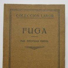 Libros antiguos: FUGA - STEPHAN KREHL. Lote 202418927