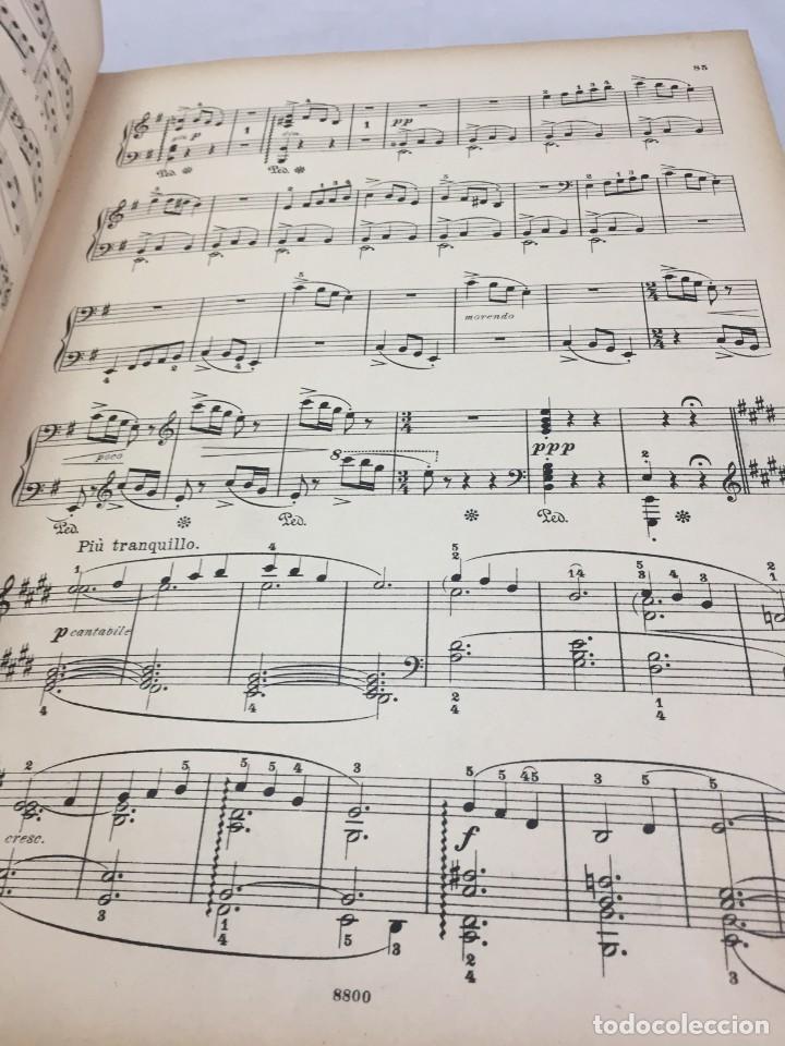 Libros antiguos: Partitura Edvard Grieg, Piezas Líricas para pianoforte. Peters Leipzig finales siglo XIX - Foto 5 - 203106673