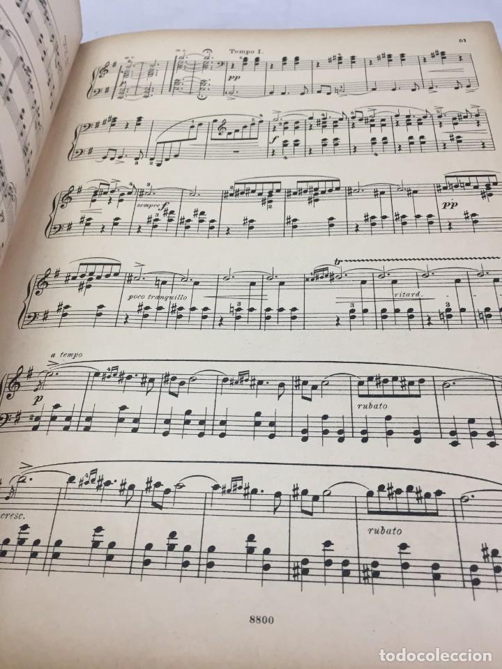 Libros antiguos: Partitura Edvard Grieg, Piezas Líricas para pianoforte. Peters Leipzig finales siglo XIX - Foto 7 - 203106673