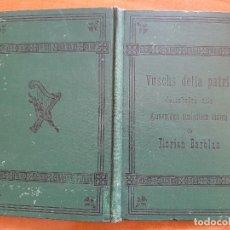 Libros antiguos: 1886- VUSCHS DELLA PATRIA / COLLECZIUN DA CHANZUNS LADINAS A TRAIS VUSCHS FLORIAN BARBAN. Lote 204490647