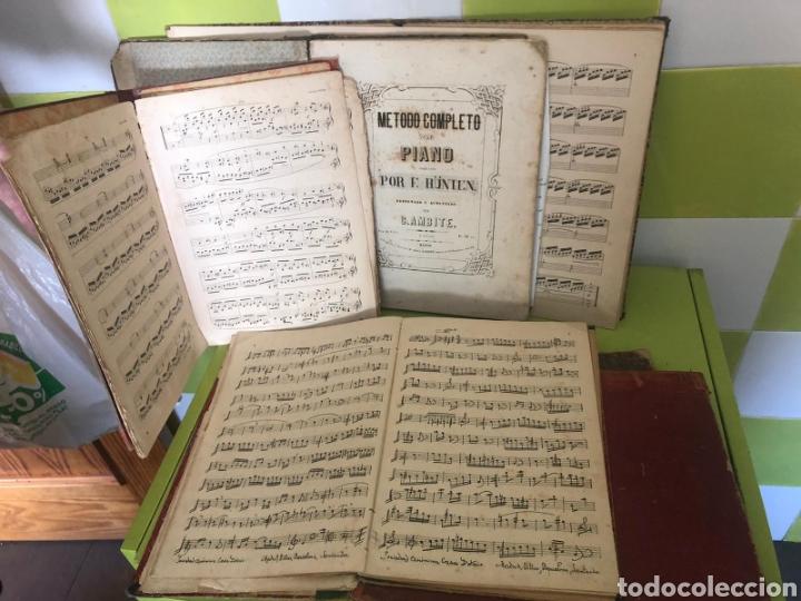 LOTE DE LIBROS DE MÚSICA SIGLO XIX (Libros Antiguos, Raros y Curiosos - Bellas artes, ocio y coleccion - Música)