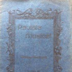 Libros antiguos: REVISTA MUSICAL HISPANO - AMERICANA, NOVIEMBRE, 1916. Lote 204619305