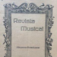 Libros antiguos: REVISTA MUSICAL, OCTUBRE, 1917. Lote 204621203