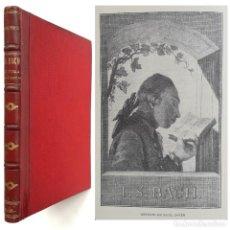 Libros antiguos: 1915 - MÚSICA - J. S. BACH - SU VIDA Y SUS OBRAS - BIOGRAFÍA ILUSTRADA CON FOTOGRABADOS - 1ª EDICIÓN. Lote 205521000
