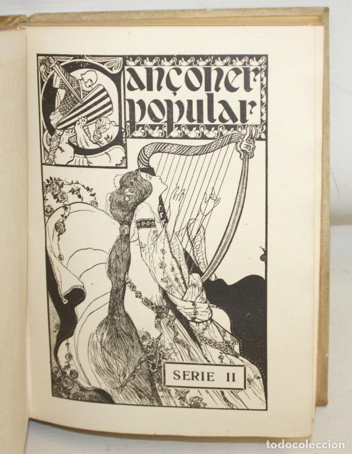 CANÇONER POPULAR - AURELI CAPMANY - 1901 - 1913- DIVIDIDA EN 3 SERIES.ELEGANTE ENQUADERNACIÓ (Libros Antiguos, Raros y Curiosos - Bellas artes, ocio y coleccion - Música)