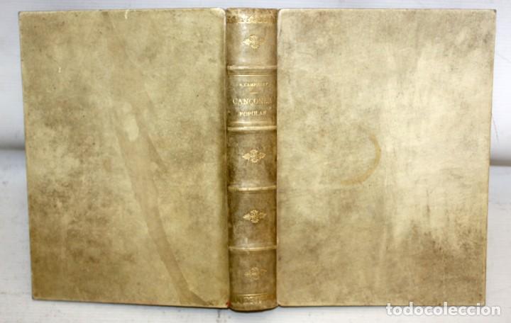 Libros antiguos: CANÇONER POPULAR - AURELI CAPMANY - 1901 - 1913- DIVIDIDA EN 3 SERIES.ELEGANTE ENQUADERNACIÓ - Foto 3 - 205685691