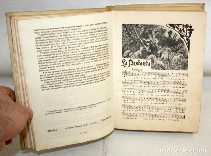 Libros antiguos: CANÇONER POPULAR - AURELI CAPMANY - 1901 - 1913- DIVIDIDA EN 3 SERIES.ELEGANTE ENQUADERNACIÓ - Foto 6 - 205685691