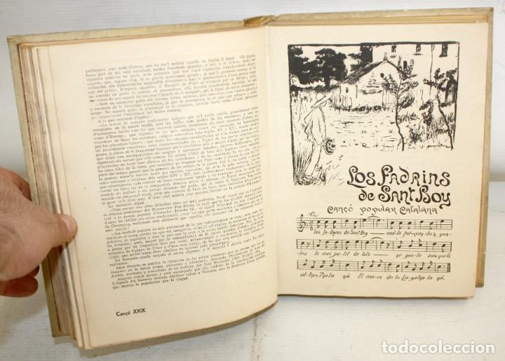 Libros antiguos: CANÇONER POPULAR - AURELI CAPMANY - 1901 - 1913- DIVIDIDA EN 3 SERIES.ELEGANTE ENQUADERNACIÓ - Foto 7 - 205685691