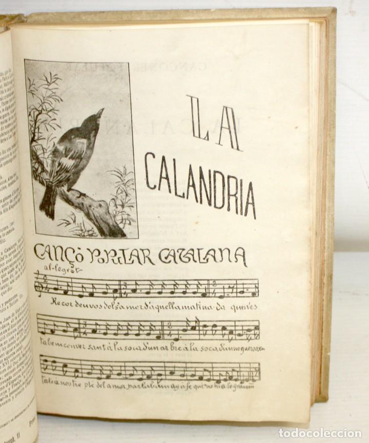 Libros antiguos: CANÇONER POPULAR - AURELI CAPMANY - 1901 - 1913- DIVIDIDA EN 3 SERIES.ELEGANTE ENQUADERNACIÓ - Foto 8 - 205685691