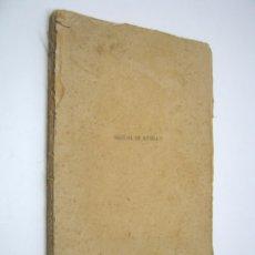 Libros antiguos: MANUAL DE MÚSICA - HIPÓLITO RODRÍGUEZ Y HERNÁNDEZ. Lote 206771931