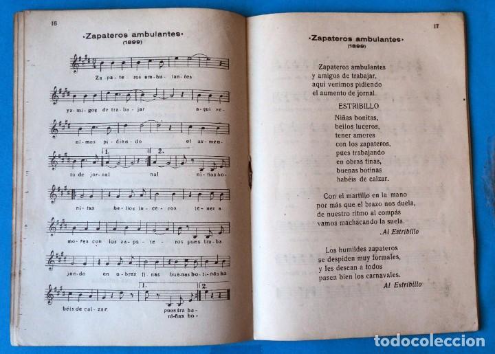 Libros antiguos: HUMORADA CHIMBERIANA CARNAVALESCAS POR JULIÁN ALEGRÍA. IMPRESOS MUSICALES ORDORICA .BILBAO 1945 - Foto 6 - 207205057