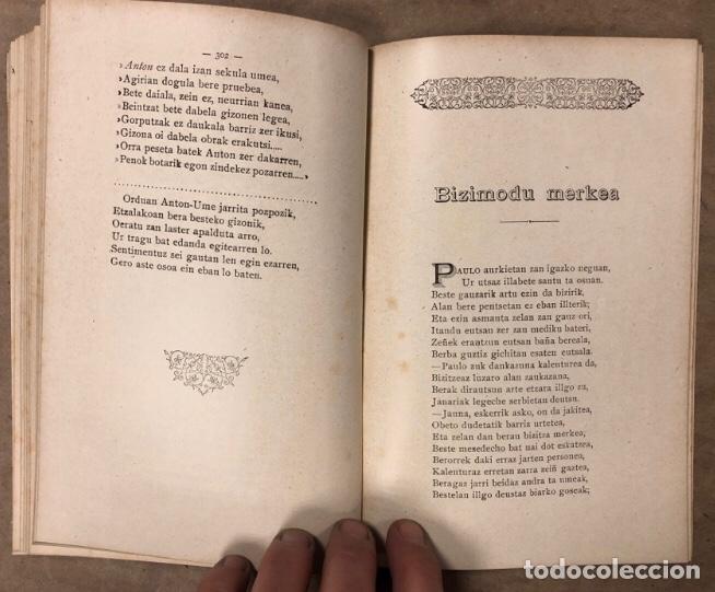 Libros antiguos: KANTU ERRIKOIAK. ANTIGUO LIBRO DE CANCIONES POPULARES VASCAS. EDITADO SOBRE 1900. EUSKERA. - Foto 9 - 208112583
