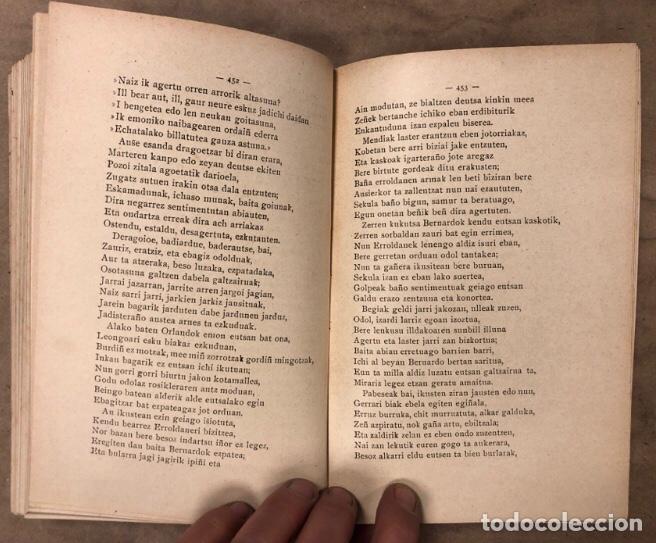 Libros antiguos: KANTU ERRIKOIAK. ANTIGUO LIBRO DE CANCIONES POPULARES VASCAS. EDITADO SOBRE 1900. EUSKERA. - Foto 11 - 208112583