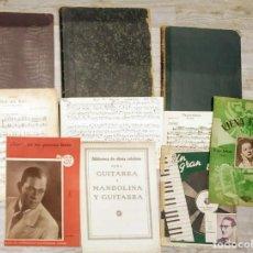 Libros antiguos: ANTIGUOS MÉTODOS DE VIOLÍN Y PARTITURAS. Lote 208914820
