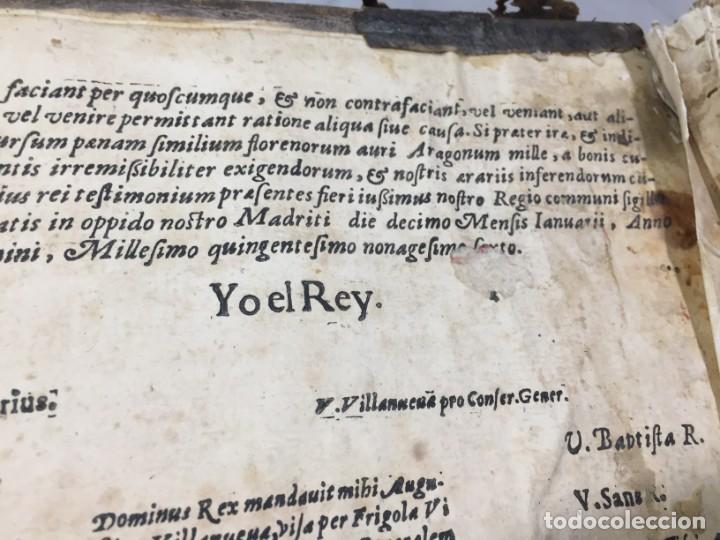 Libros antiguos: Antifonario español siglo XVI portadas madera y piel 1596 mas de 300 páginas daños de uso - Foto 6 - 210080728