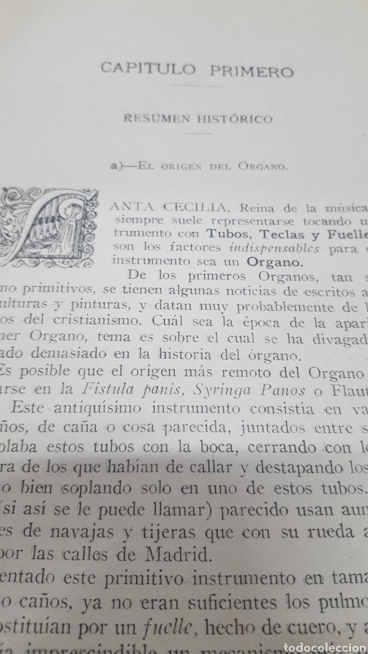 Libros antiguos: MERKLIN, Alberto: ORGANOLOGÍA Exposición científica y gráfica del órgano en todos sus elementos 1924 - Foto 3 - 210100270