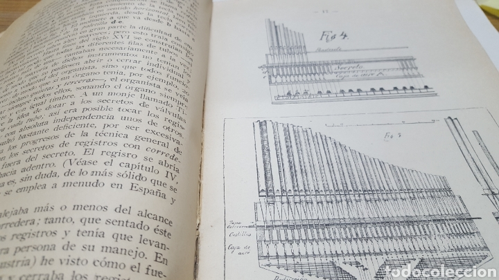 Libros antiguos: MERKLIN, Alberto: ORGANOLOGÍA Exposición científica y gráfica del órgano en todos sus elementos 1924 - Foto 5 - 210100270