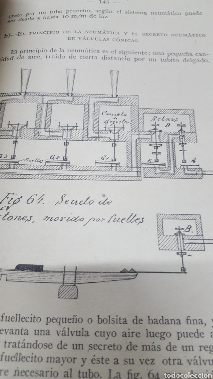 Libros antiguos: MERKLIN, Alberto: ORGANOLOGÍA Exposición científica y gráfica del órgano en todos sus elementos 1924 - Foto 6 - 210100270