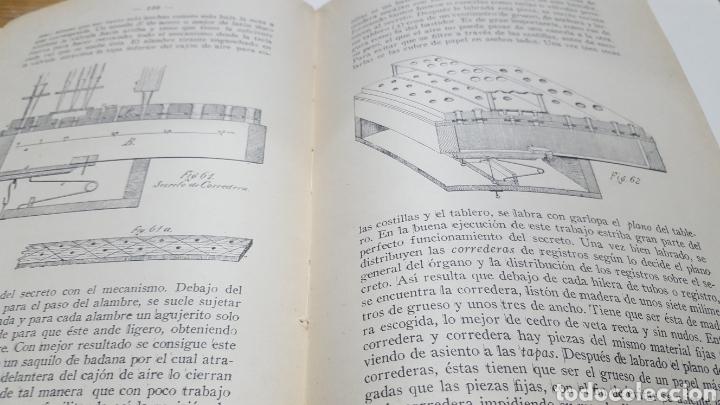 Libros antiguos: MERKLIN, Alberto: ORGANOLOGÍA Exposición científica y gráfica del órgano en todos sus elementos 1924 - Foto 7 - 210100270
