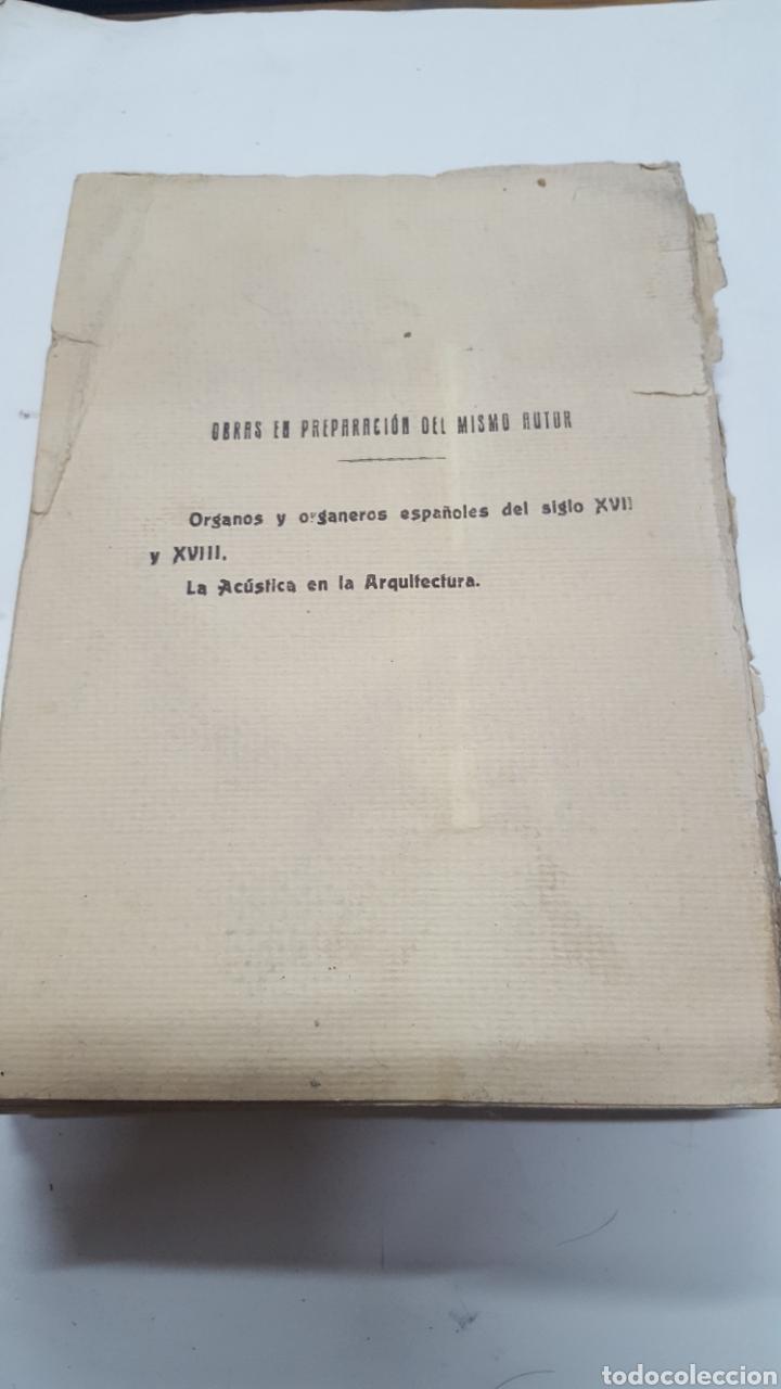 Libros antiguos: MERKLIN, Alberto: ORGANOLOGÍA Exposición científica y gráfica del órgano en todos sus elementos 1924 - Foto 10 - 210100270