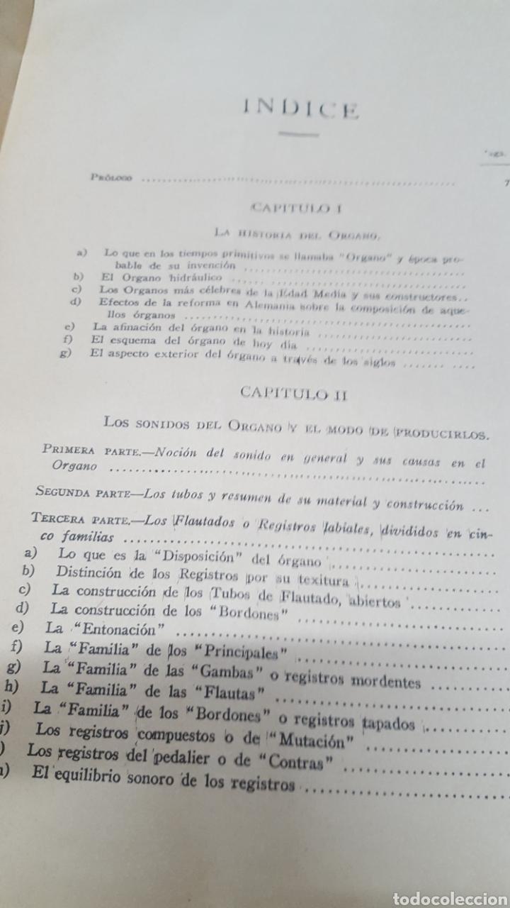 Libros antiguos: MERKLIN, Alberto: ORGANOLOGÍA Exposición científica y gráfica del órgano en todos sus elementos 1924 - Foto 12 - 210100270