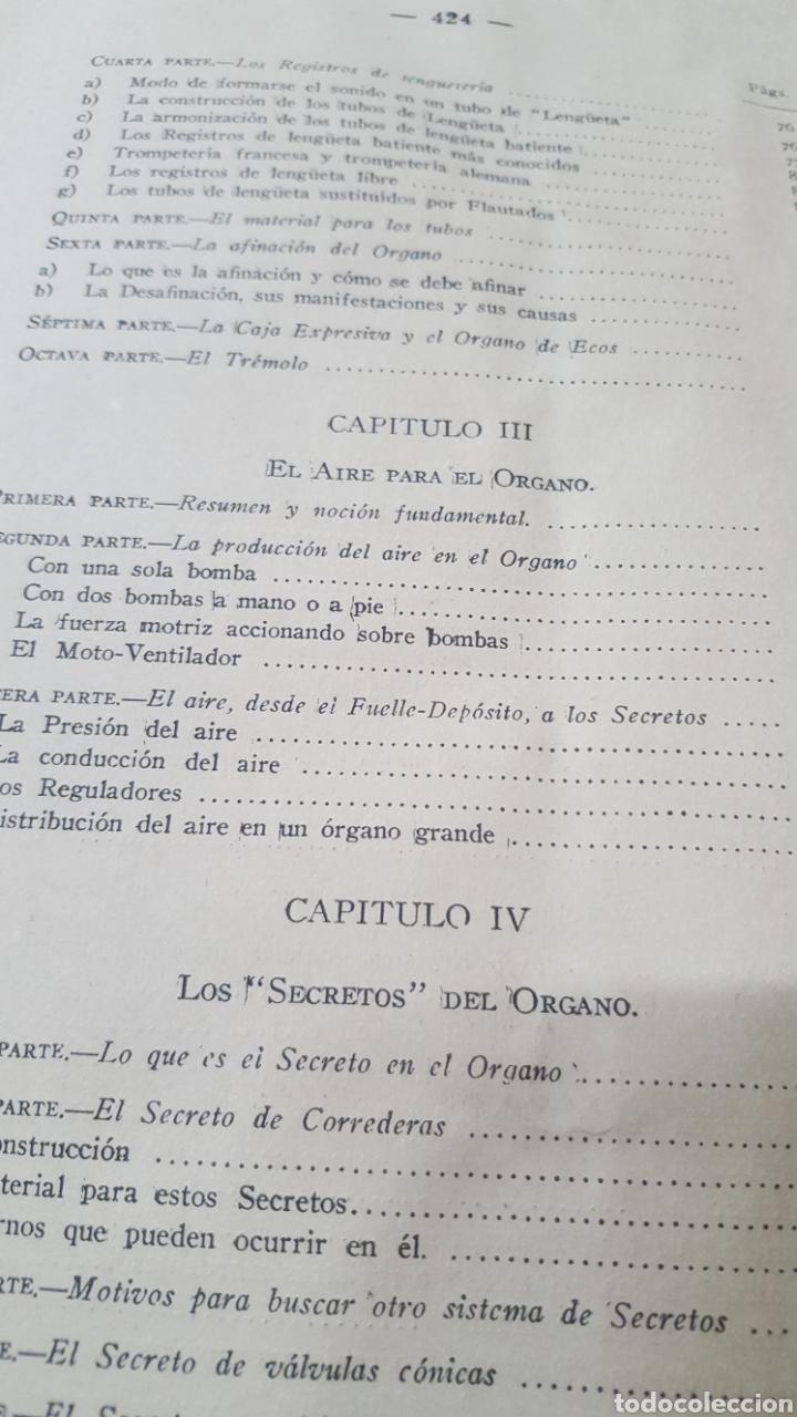 Libros antiguos: MERKLIN, Alberto: ORGANOLOGÍA Exposición científica y gráfica del órgano en todos sus elementos 1924 - Foto 13 - 210100270