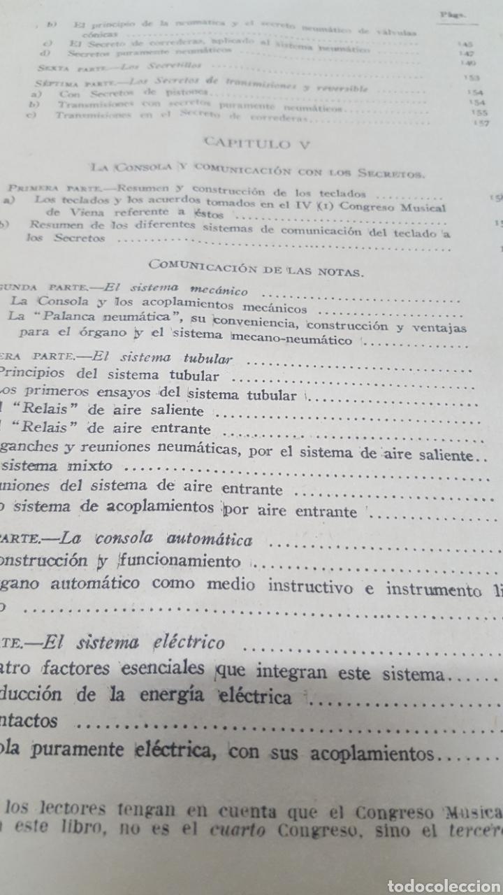 Libros antiguos: MERKLIN, Alberto: ORGANOLOGÍA Exposición científica y gráfica del órgano en todos sus elementos 1924 - Foto 14 - 210100270