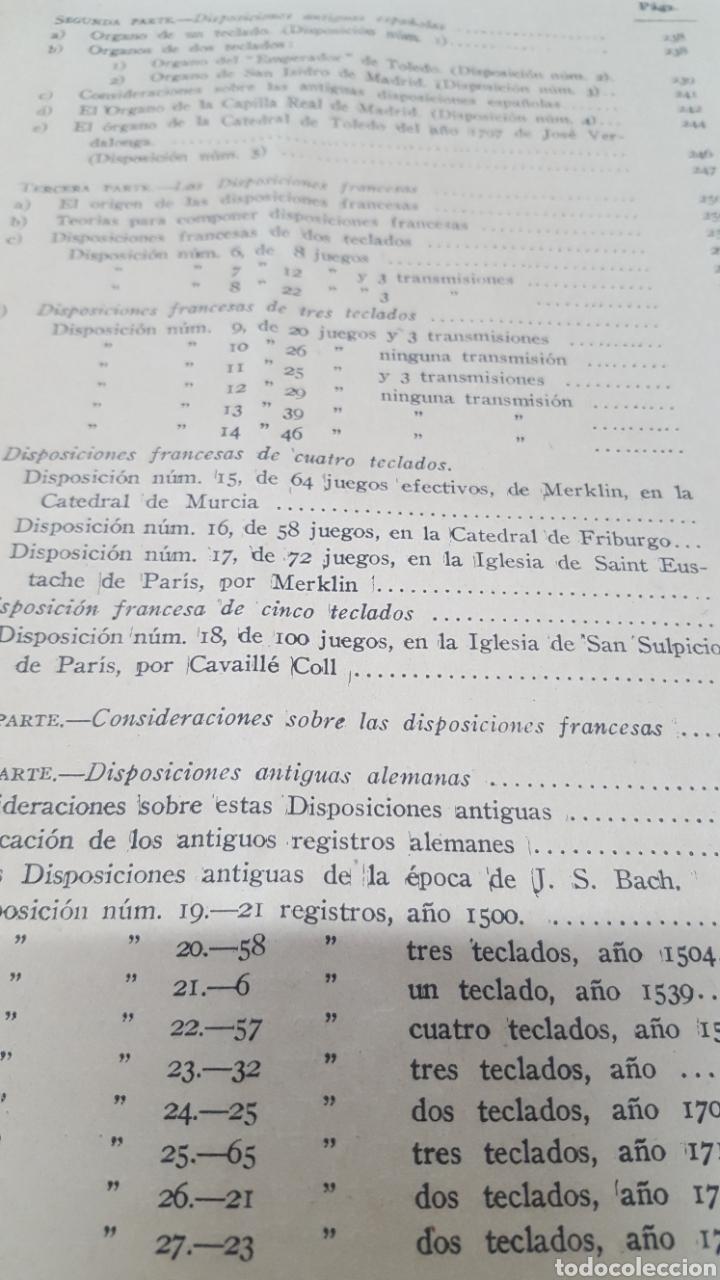Libros antiguos: MERKLIN, Alberto: ORGANOLOGÍA Exposición científica y gráfica del órgano en todos sus elementos 1924 - Foto 16 - 210100270