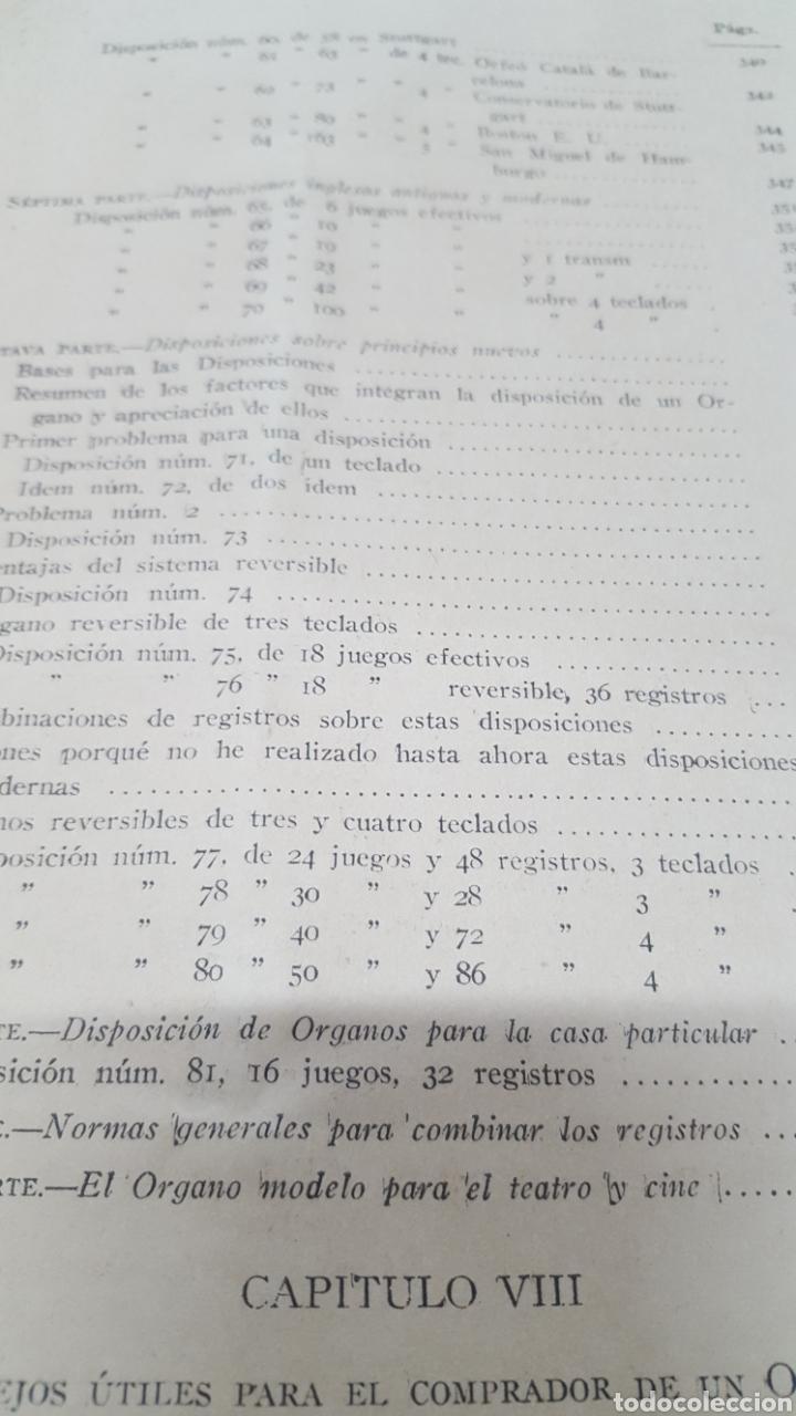 Libros antiguos: MERKLIN, Alberto: ORGANOLOGÍA Exposición científica y gráfica del órgano en todos sus elementos 1924 - Foto 18 - 210100270
