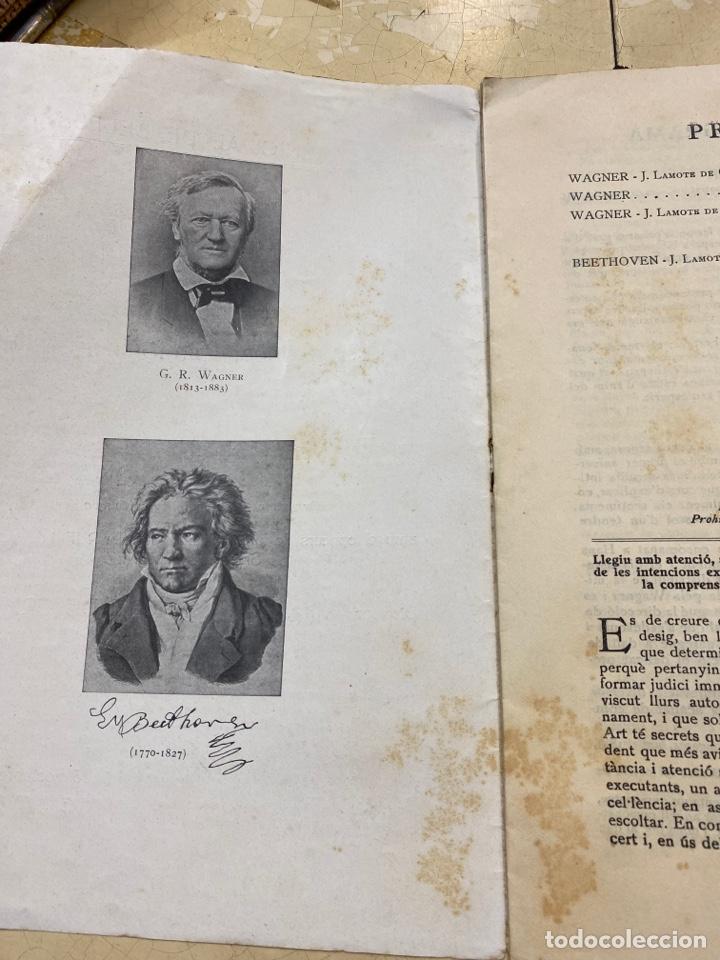 Libros antiguos: Revista Banda Municipal dé Barcelona. 1935 - Foto 4 - 210264485