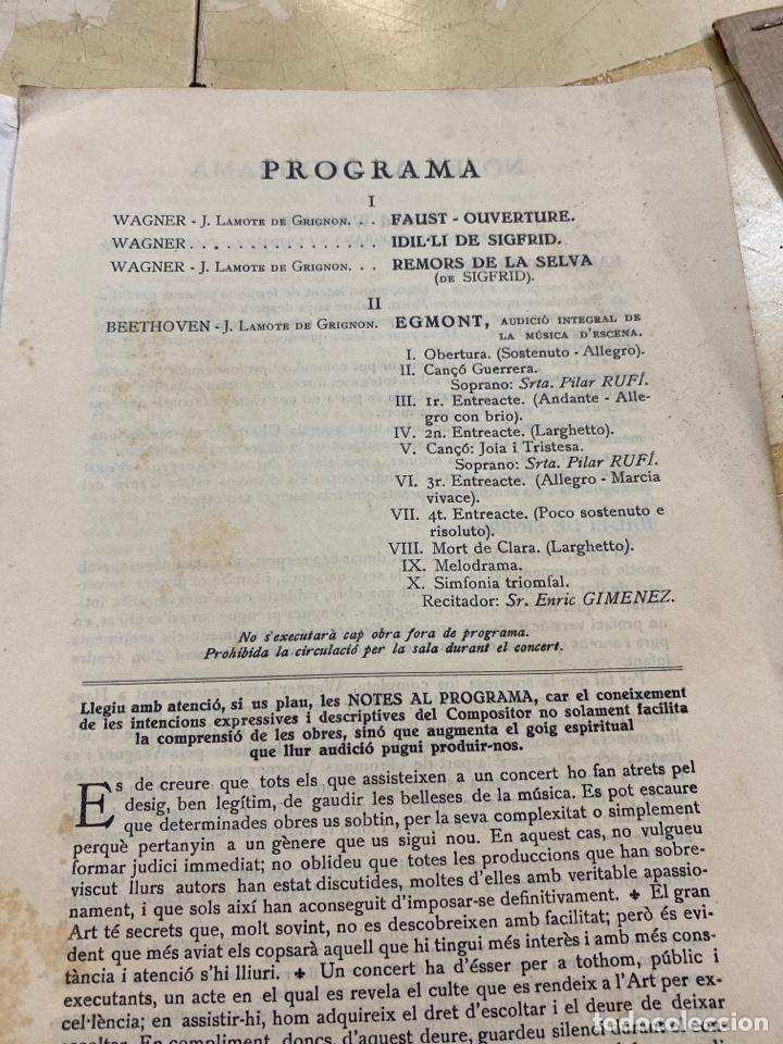 Libros antiguos: Revista Banda Municipal dé Barcelona. 1935 - Foto 5 - 210264485