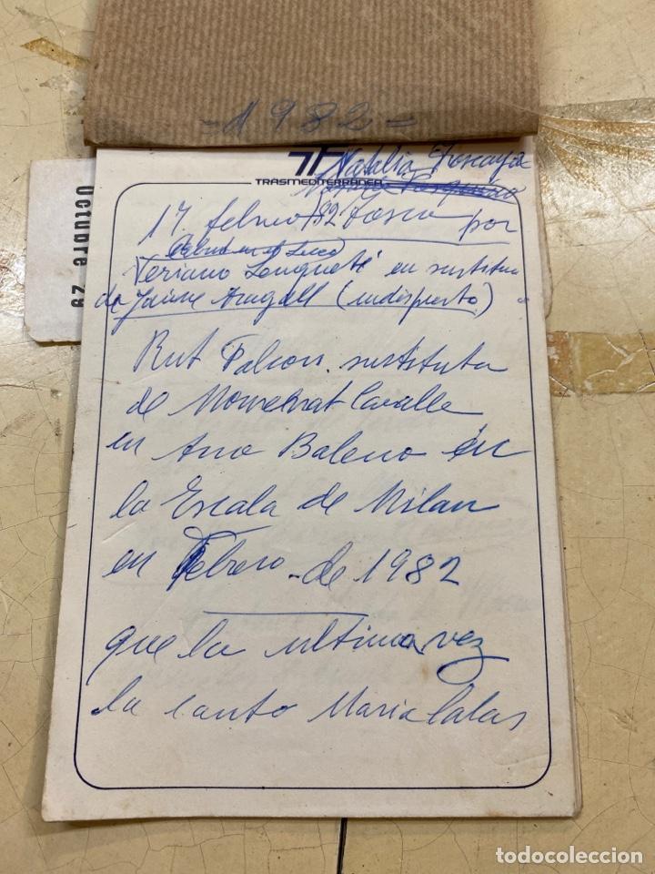 Libros antiguos: Librito personal de óperas del liceo. - Foto 2 - 210264647
