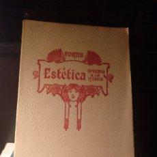 Libros antiguos: JOSÉ FORNS, ESTÉTICA APLICADA A LA MÚSICA II. 1929. Lote 210799795