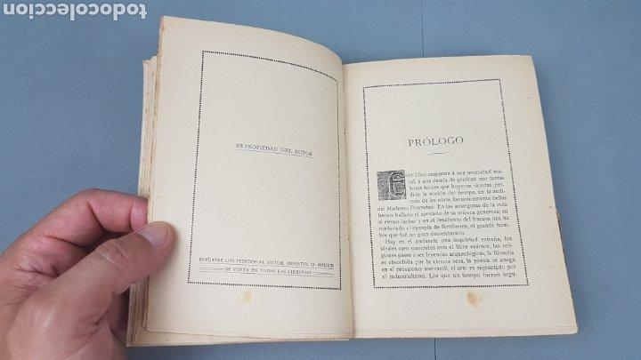 Libros antiguos: LA IX SINFONIA DE BEETHOVEN POR MATEO H. BARROSO. ENSAYO DE CRITICA Y ESTETICA MUSICAL. Madrid 1912 - Foto 4 - 212643737