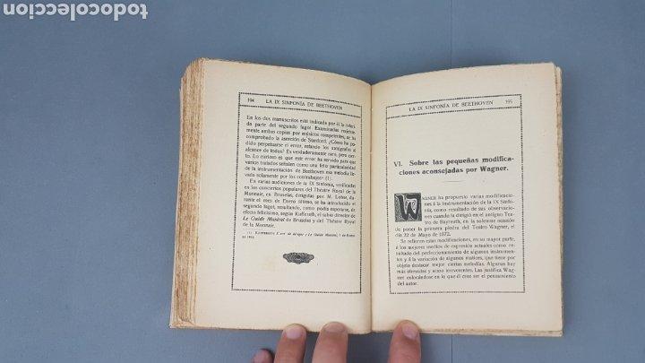 Libros antiguos: LA IX SINFONIA DE BEETHOVEN POR MATEO H. BARROSO. ENSAYO DE CRITICA Y ESTETICA MUSICAL. Madrid 1912 - Foto 9 - 212643737