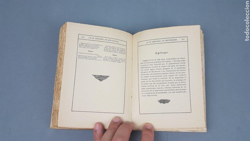 Libros antiguos: LA IX SINFONIA DE BEETHOVEN POR MATEO H. BARROSO. ENSAYO DE CRITICA Y ESTETICA MUSICAL. Madrid 1912 - Foto 11 - 212643737