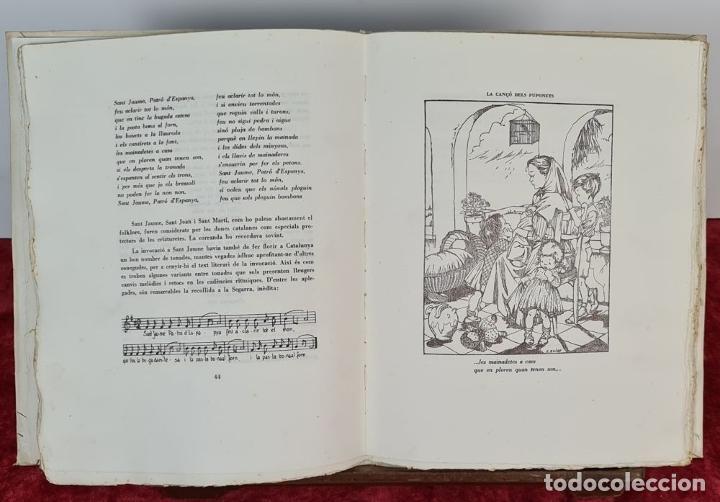 Libros antiguos: APLEC DE NON-NONS I CANÇONS DE BRESSOL. JOSEP GIBERT. TIP. BOSCH. 1948. - Foto 6 - 212680311