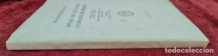Libros antiguos: APLEC DE NON-NONS I CANÇONS DE BRESSOL. JOSEP GIBERT. TIP. BOSCH. 1948. - Foto 7 - 212680311