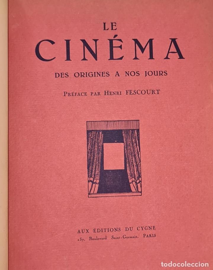 Libros antiguos: LES SPECTACLES ET LE CINEMA A TREVERS LES AGES. EDIT. CYGNE. 3 VOL. 1932. - Foto 3 - 213067011